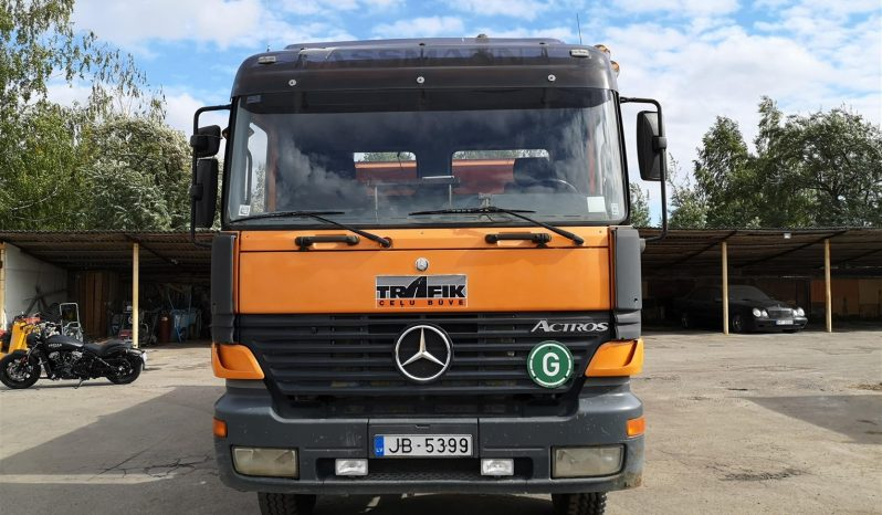 MB 2643 Actros 6×4 full