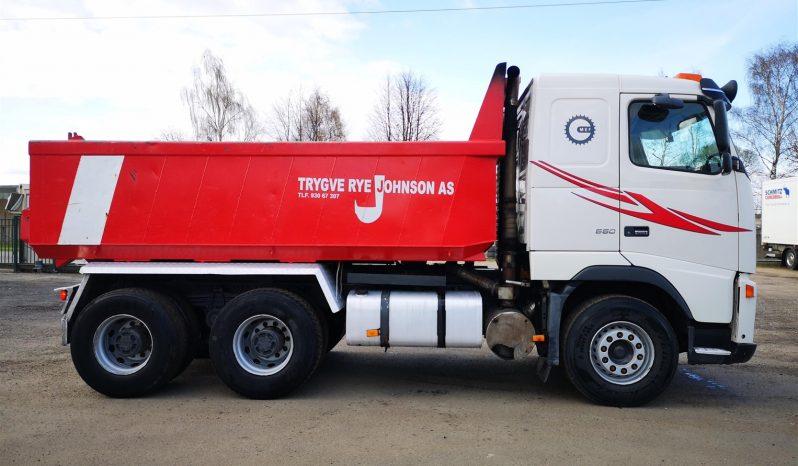 VOLVO FH 550 6×4 full